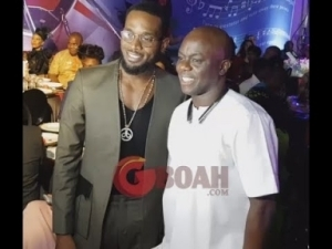 Video: Kokomaster Dbanj, Dele Momodu, Singer KSB All Present At Omotola